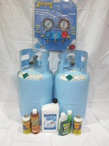AC Refrigerant & Lubricant 2