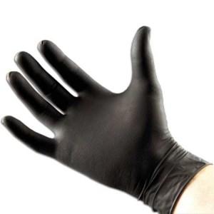 black-nitrile-glove